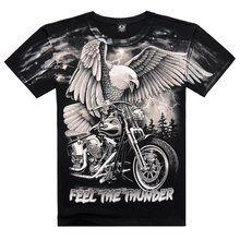 New 2016 Arrival 3D Printed On Shoulder Camisetas Casual Men's Wear Cotton Eagle Cool Summer T Shirt Famous Brand Men Clothing