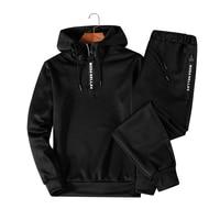 Men Clothing Set Sportswear 2018 Autumn New Hoodies Sweatshirts Active Sets Men's Tracksuits Two Piece Hoodies+Pants 2pcs Sets