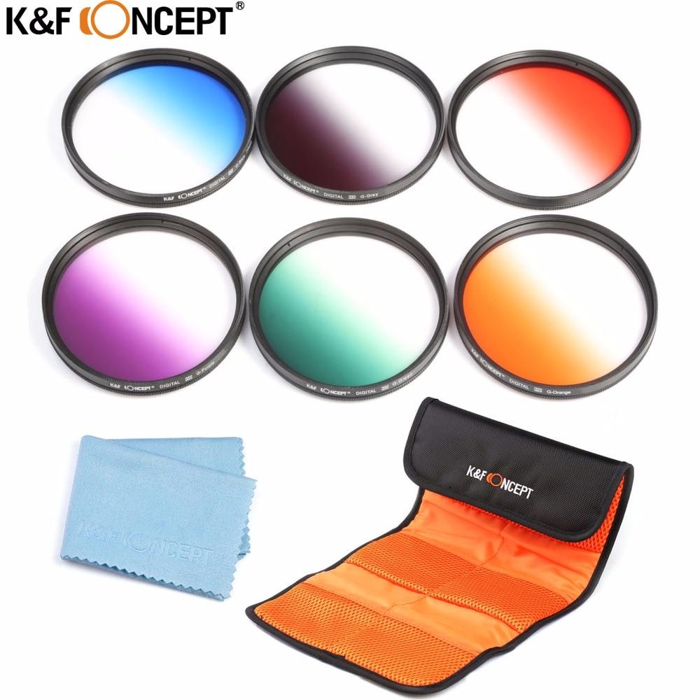 K&F CONCEPT 58mm ND2 ND4 ND8 objektiivide filter + UV CPL FLD + - Kaamera ja foto - Foto 1