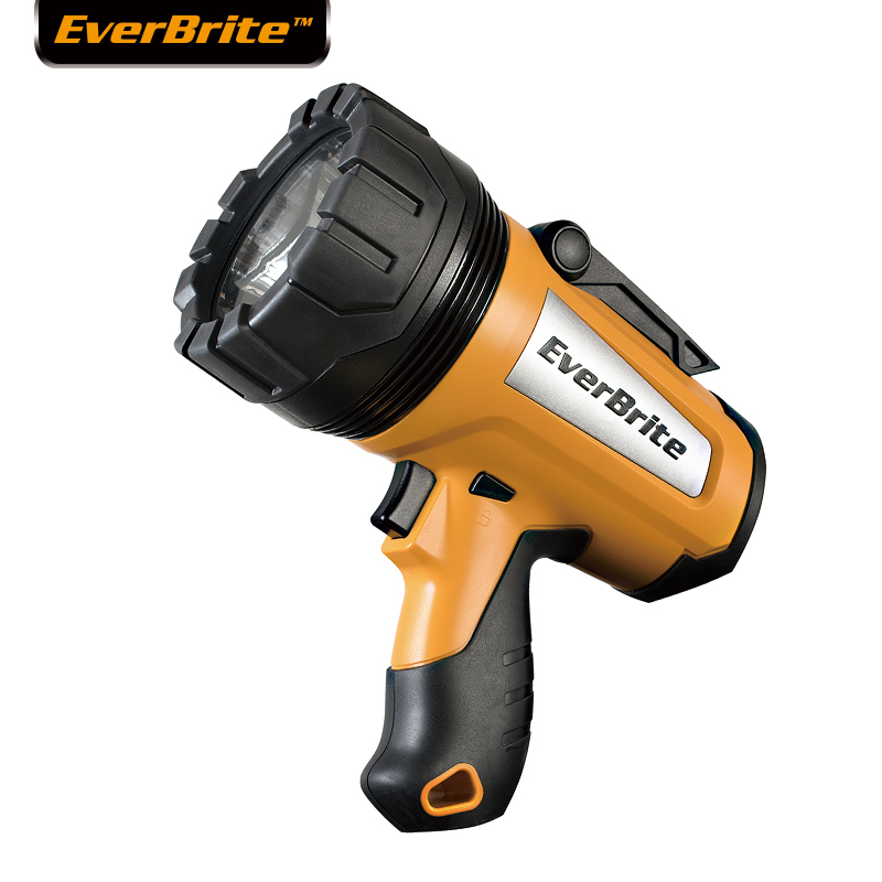 EVERBRITE LED Flashlight Powerful Searchlight 1000 Lumens BS PLUG Heavy Duty Rechargeable Flashlight Portable Spotlights