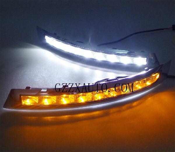 ходовые светодиодные огни для вольво xc90