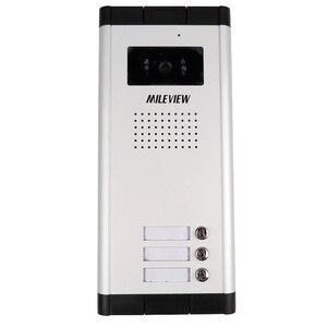"""Image 4 - ใหม่7 """"หน้าจอสีวิดีโอIntercom Doorbellระบบสำหรับ2/3/4บ้านครอบครัวในสต็อกจัดส่งฟรี"""
