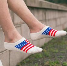 EU 35-45 High Quality Men Socks Cotton Bamboo Fiber Classic Breathable Flag Socks Men 2019 Happy Socks Hot 1 Pairs/Set