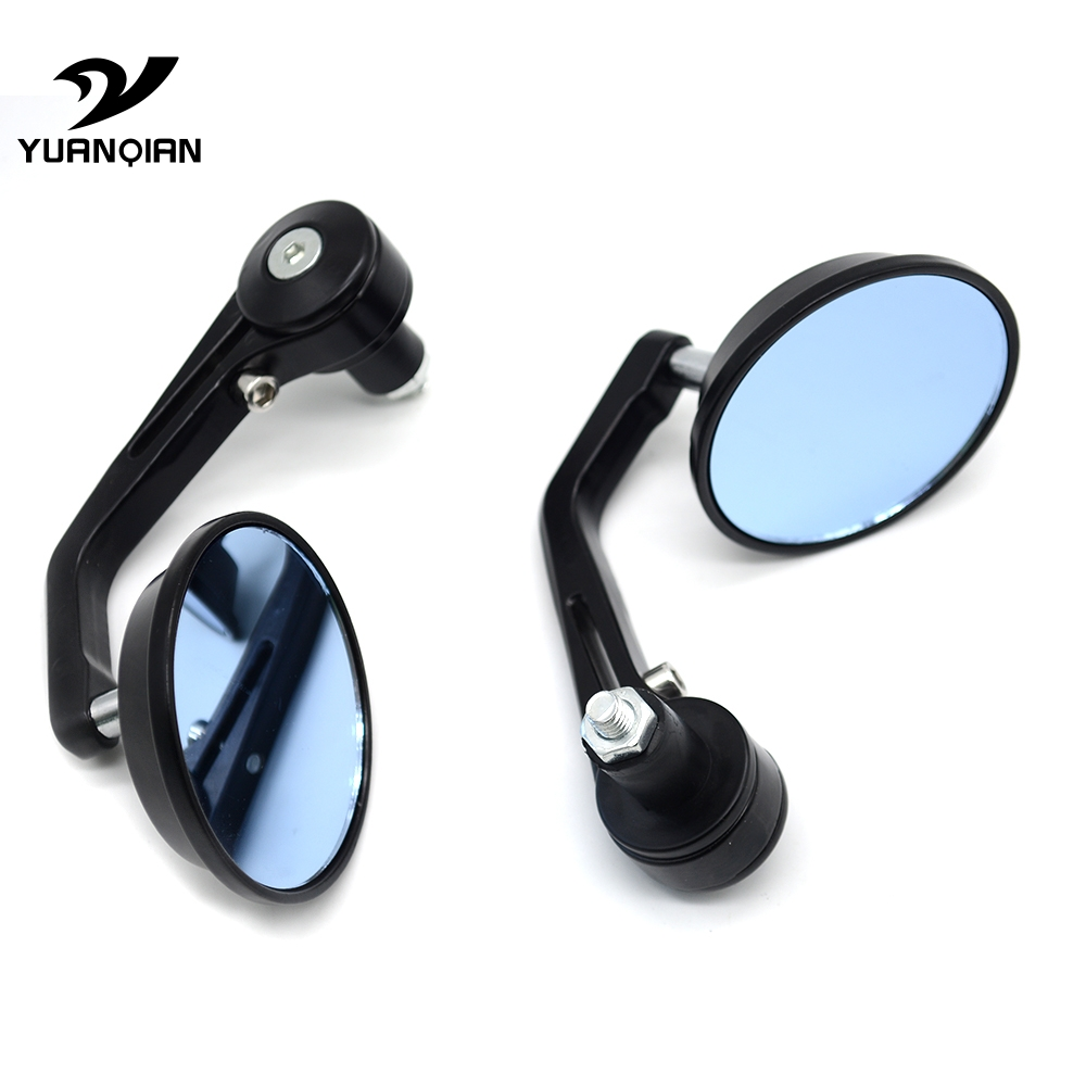 for Rearview Mirrors For Suzuki GSX-S1000 GSXS1000 Gladius GSR 400 750 600 SV 650 CNC Aluminum Mirror Motorcycle Scooter Accesso
