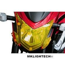 MKLIGHTECH For SUZUKI GSX S750 GSX-S750 2017-2018 Motorcycle Acrylic Headlight Screen Protecter Lens Cover