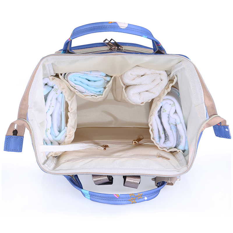 Fashion Mummy Maternity Nappy Bag Diaper Bags Large Capacity Baby Travel Backpack Designer Nursing stroller for wet bag