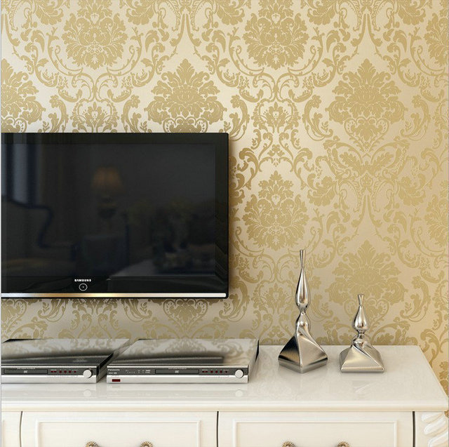 Ikea Leaves | Ikea Leaves Non Woven Fabric Warpaer The Wall Paper For Bathroom