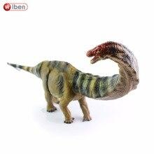 لعبة ديناصور الاباتوسوروس من Wiben N شخصيات جوراسيك مرسومة باليد مجموعة نماذج حيوانات هدية تعليمية للأطفال