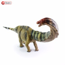 Wiben n 쥬라기 apatosaurus 공룡 장난감 손으로 그린 액션 그림 동물 모델 컬렉션 학습 및 교육 어린이 선물