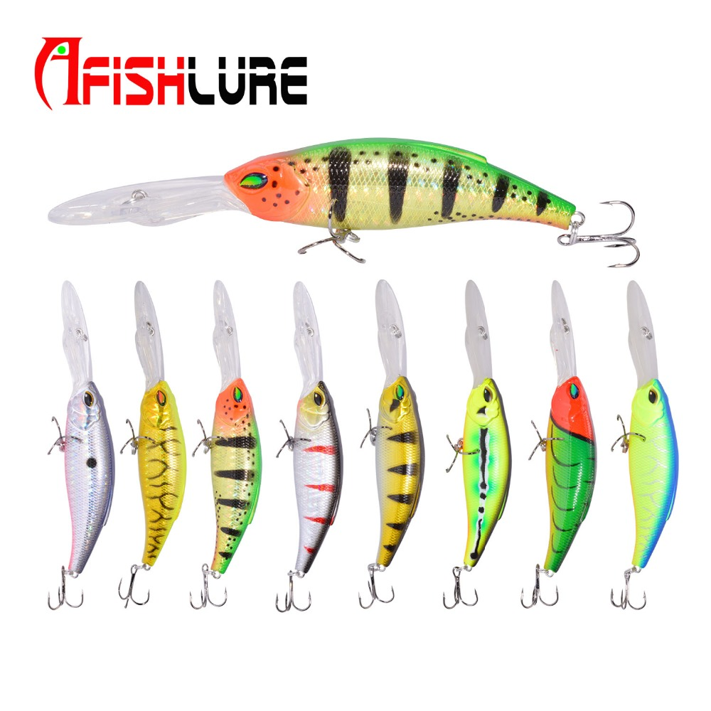 Trolling Fishing Bait 17g/130mm Big Tongue Fishing Lure Crankbait Bionic Minnow Lure Iscas Pesca Fishing Minnow Tackle Afishlure allblue slugger 65sp professional 3d shad fishing lure 65mm 6 5g suspend wobbler minnow 0 5 1 2m bass pike bait fishing tackle