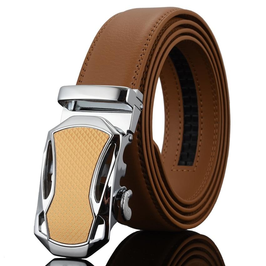 WOWTIGER Moda para hombre Hebilla automática Cuero de lujo Hombre - Accesorios para la ropa - foto 5