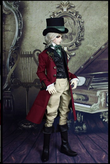 Limited CRANFORD European Gentleman Outfit Suit for BJD Doll SD10 SD13 SD17,Uncle, SOOM IP EID BJD DOLL Clothes LF6 sweetie chocolate mousse european retro outfit dress suit for bjd doll 1 6 yosd doll clothes lf9