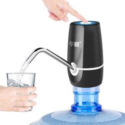 Breve diseño elegante 304 Acero inoxidable automático eléctrico portátil bomba de agua dispensador galón interruptor de botella de beber