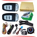 smart car security alarm system ignition start stop button auto keyless entry car door central lock feature