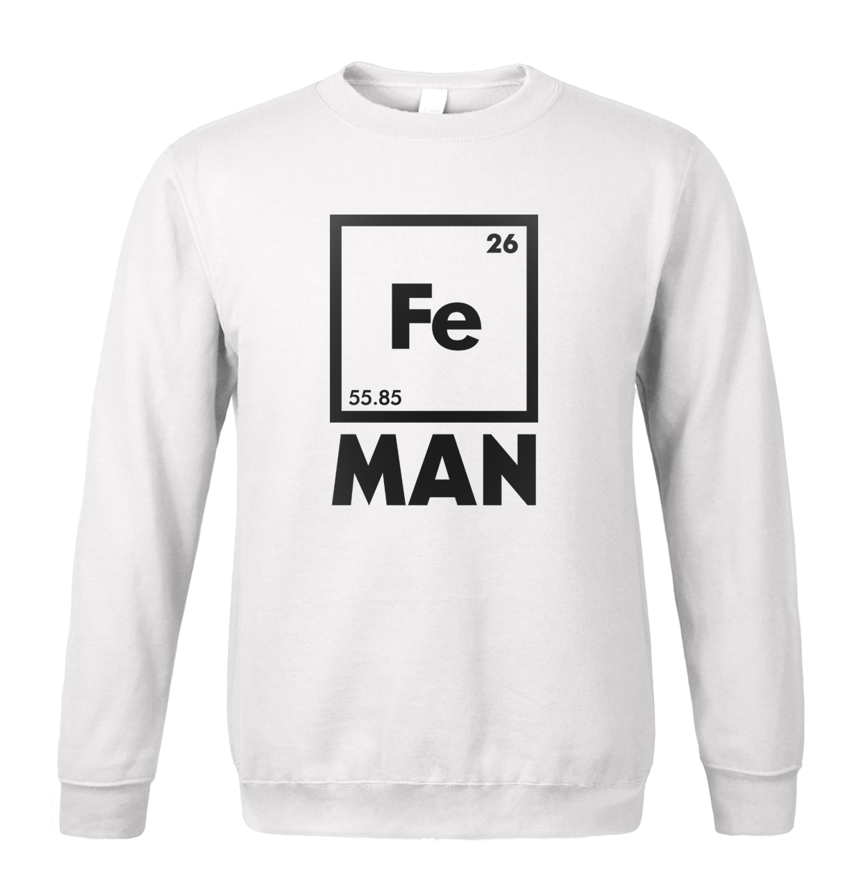 2019 new spring winter Iron Science sweatshirt Funny Chemistry Periodic Table men hoodies fashion loose fleece tracksuit men