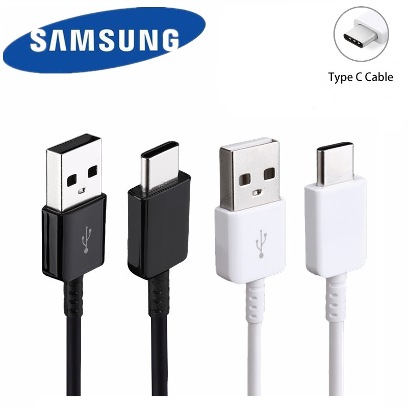 100%Original Samsung Type C Cable Galaxy 120cm Charge Cable Quick Fast Charge USB 3.1 Type C For S8 S9 Plus Note 8  Note 9 A7 A8