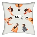 Ulzzang GOT7 album style soft bolster pillowLay Jackson Bambam Mark Young jae Yugyeom Junior40*40cm