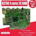 E403SA материнская плата для For Asus E403SA E403S материнская плата работает 100% тест Оригинал N3700 4 ядра 2G RAM 32G SSD
