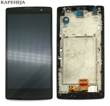 "5.0"" For LG Magna G4c H525N H525 H522Y H520Y H500 H502 LCD Display Touch Screen Digitizer Assembly with Bezel Frame(China)"