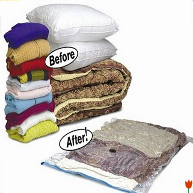 Super Big Size Space Saver Saving 80% Home Organizer Bust Proof Storage Bag  Seal Compressed Vacuum Bag Quilt Clothes In Storage Bags From Home U0026 Garden  On ...