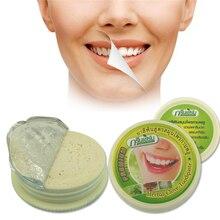 Таиланд Отбеливание зубной пасты Зубной порошок Для Чистки Зубов Зубной Пасты травяные зубная паста Удаление Дыма Чай Желтые Пятна Z3