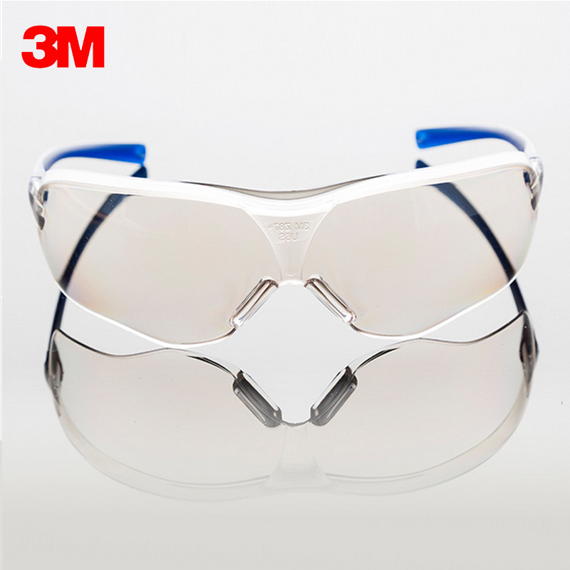 цена на 3M 10436 Safety Goggles Glasses Outdoor work Sports Bicycle Cycling Anti-UV Anti Shock Glasses Anti-dust anti Sunlight Resistant