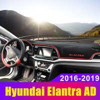 Auto Cruscotto Copertura Zerbino Dash Zerbino Tenda Da Sole Tappeto Anti-Uv LHD Per hyundai Elantra MD AD 2011-2015 2016 2017 2018 2019 Accessori
