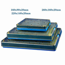NEW Ophthalmic Microsurgical Instruments Surgical Autoclavable Surgery Silicone Disinfecting box L/M/S Size High Quality