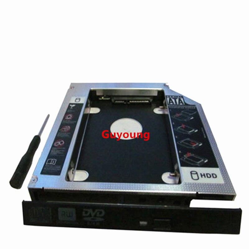2nd Hard Drive HD SSD SATA Caddy Adapter for Lenovo IdeaPad G50-30 G50-45 G50-70