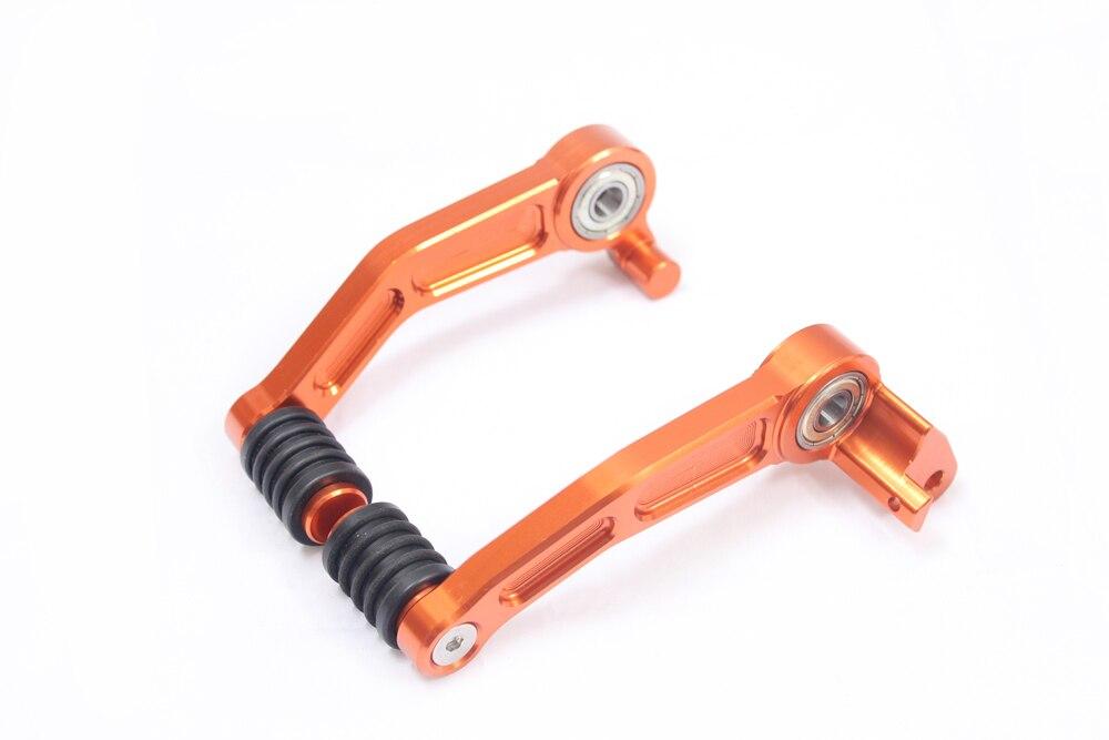 Новый ЧПУ Алюминиевый сцепные Шестерни педаль Рычаг для KTM 125/200/390 Duke 2013-2016 1 ...