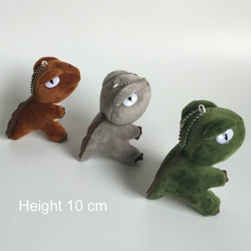 HOT 3 Colori Kawaii Mini Dinosauro Giocattolo Dragon Peluche Ripiena Giocattolo 10 cm Altezza Keychain Del Pendente Del GIOCATTOLO Della Peluche Della BAMBOLA