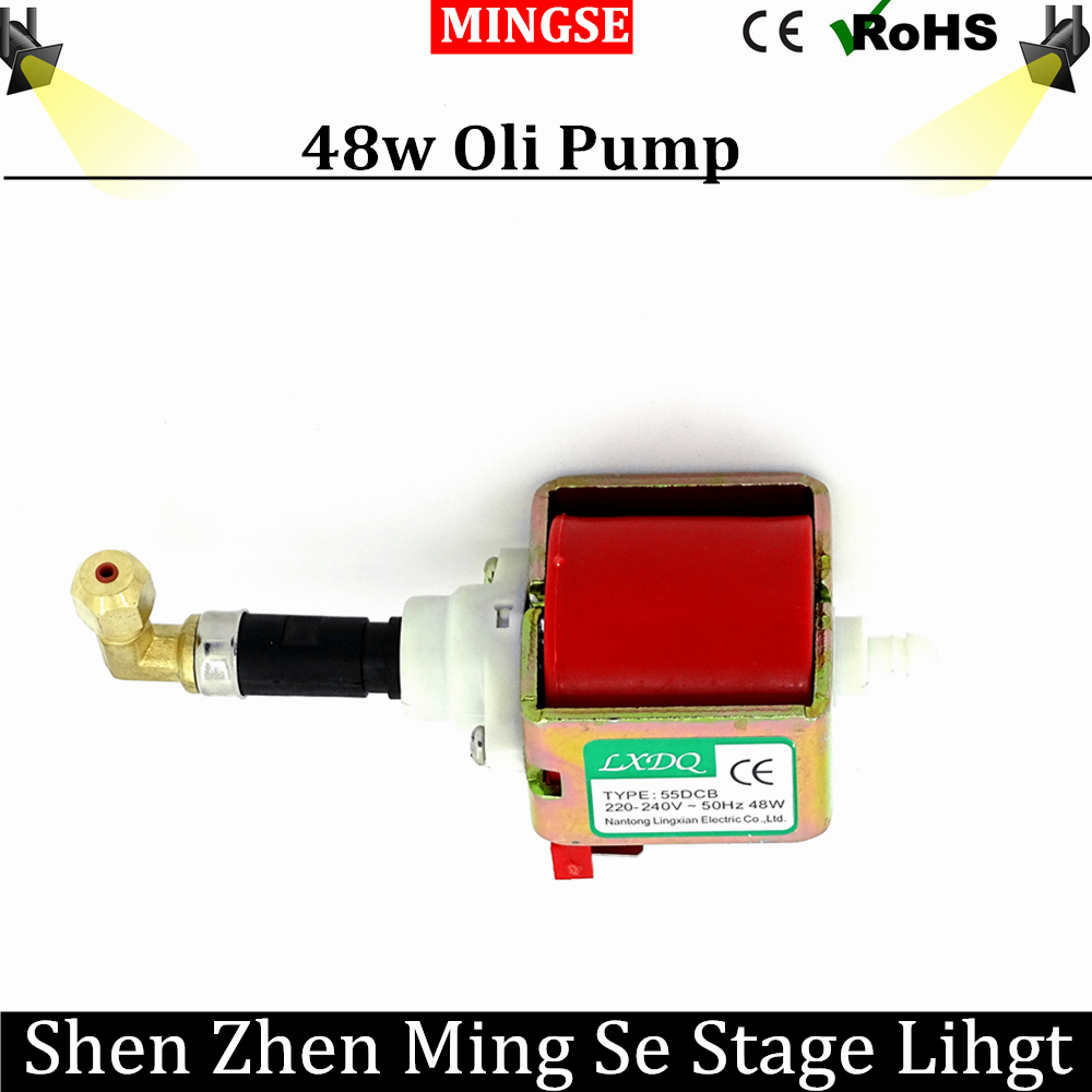 Fast Shipping  48W Pump smoke machie 2000W/3000W oil pump dedicated 55DCB AC110-240V oil pump stage fog machine manka care 110v 220v ac 50l min 165w small electric piston vacuum pump silent pumps oil less oil free compressing pump