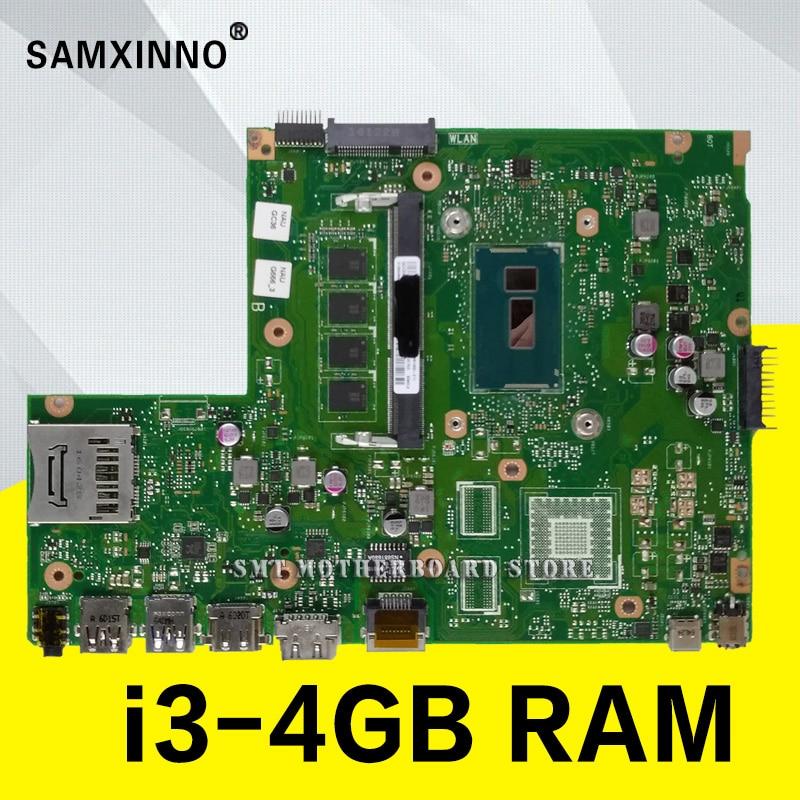 X540LA МБ. _ 4 г/I3 4005U/Комо 4 Гб оперативной памяти 90NB0B00 R00020 материнская плата для Asus X540L X540LJ F540L Материнская плата ноутбука