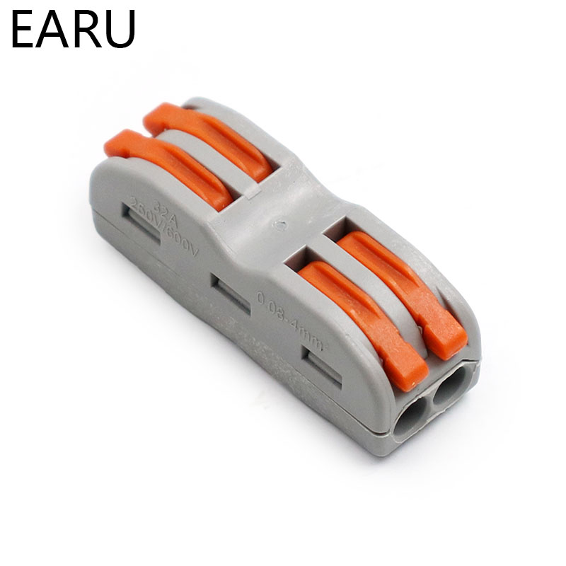 Wago Type 10PCS Electrical Wiring Terminals Household Wire Connectors Fast PCT212 For Connection Wires Lamps Lanterns PCT-212Wago Type 10PCS Electrical Wiring Terminals Household Wire Connectors Fast PCT212 For Connection Wires Lamps Lanterns PCT-212