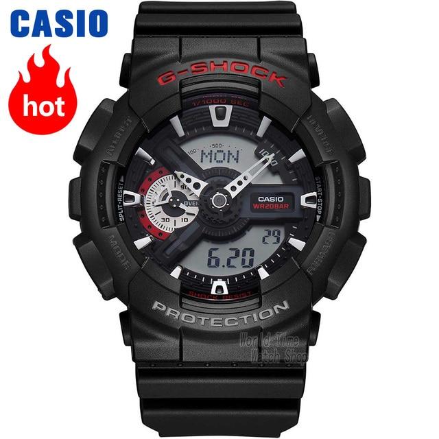 e1ca37a4a957 Reloj Casio G-SHOCK de los hombres de cuarzo reloj deportivo de gran Dial  impermeable
