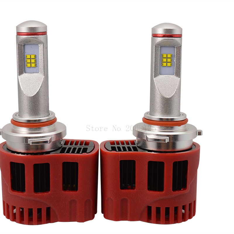 High quality waterproof P6 45W HB3 H10 LED Headlight ZES CHIP car Light Bulbs 4500LM kit 3000K 4000K 5000K 6000K p6 philips chips 45w 4500lm led car headlight 9012 6000k led
