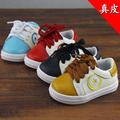 Genuine leather baby single shoes soft outsole 0-1 year old male infant toddler shoes skateboarding shoes slip-resistant casual