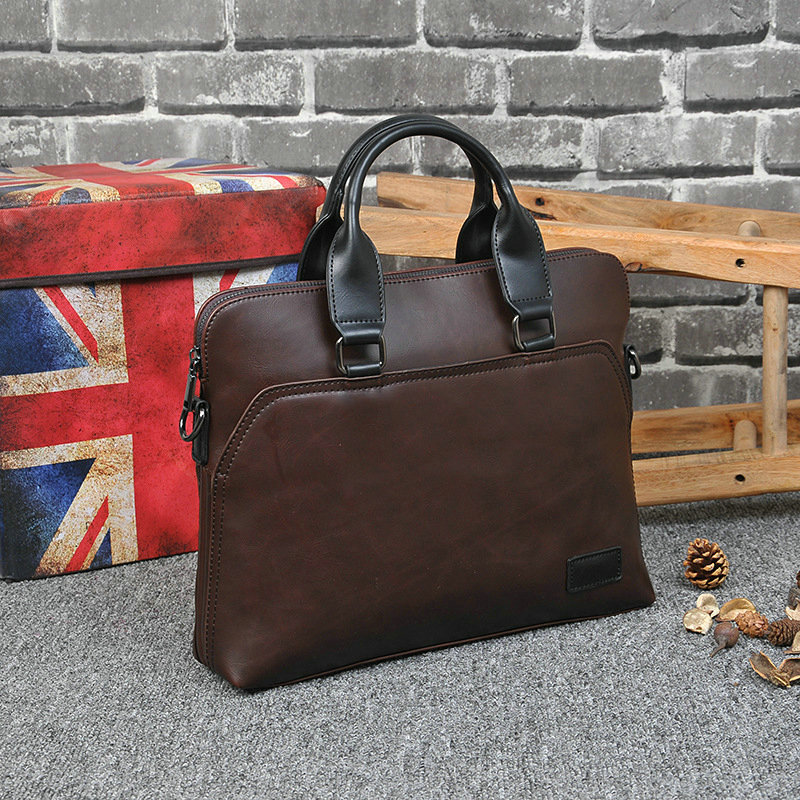 New Design PU Leather Briefcase for Men 6