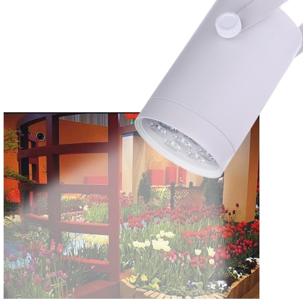 7W LED Plant Grow Light AC 100-240V 360 Degree Adjustable Aluminum Indoor Plant Lights Application For Indoor garden Pot Plants