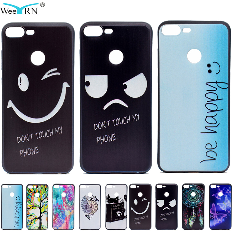 Funny Words Honor 9 lite Case TPU Soft Cover for Huawei Hono