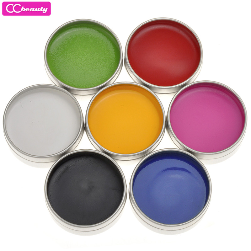 CCbeauty Hot Style Pro Face Body DIY Grease Painting Oil Art Halloween Party Fancy Makeup 7 Colors Drawing Pigment Body Painting
