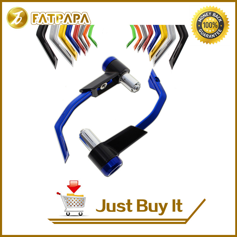 FATPAPA -7/8 Free shipping motorcycle brake clutch protection lever for Yamaha FZ MT01 MT03 MT07 MT09 MT10 Lever Guard laker pro d9 7 8 x p9 yamaha 20 30 л с 45618