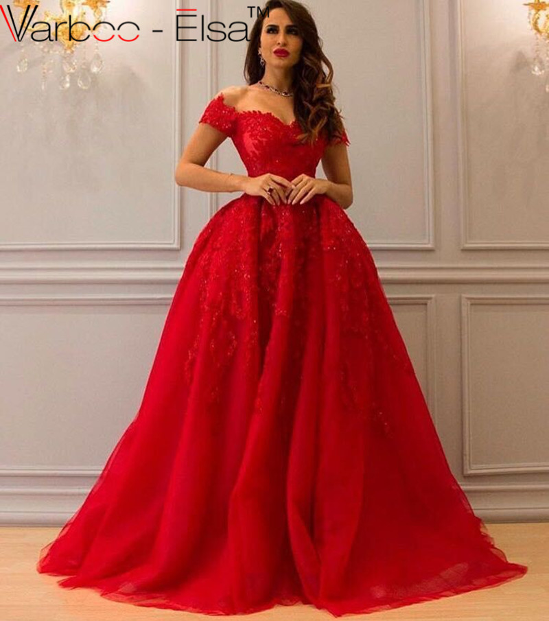 Unique Karin Dresses 2016 Women Red Embroidery Elegant Mermaid Evening Dress
