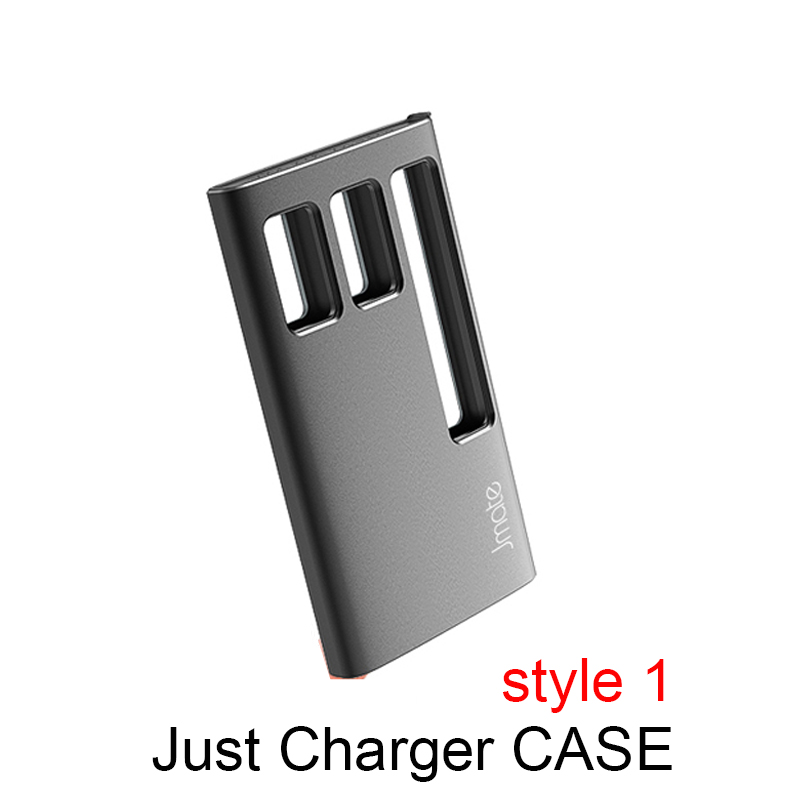US $22 4 20% OFF Latest HUIMOKE Jmate Universal Charger Case For JUUL  Electronic Cigarette 3 times For JUUL 1200mah portable charging box-in  Elctronic