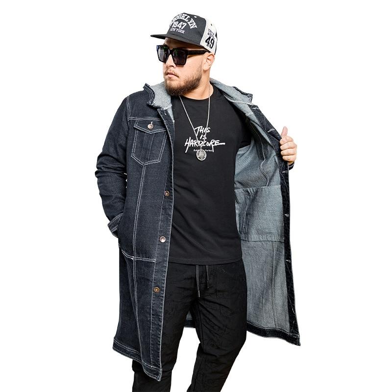 GLO STORY Men s 2018 Spring New Fashion Long Trench Coat Men Adjustable Waist Windbreaker Hoodie