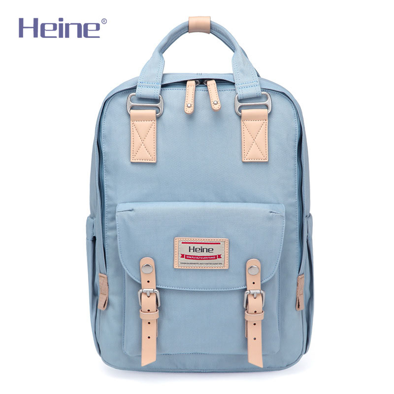 Heine Big Nylon Mummy Diaper Bag Baby Care Travel Nappy Changing Backpack Stroller Mom Maternity Nursing Organizer 28*12*38cm baby diaper bag backpack maternity nursing bag for stroller nappy changing bag baby care organizer for mom travel backpack d3