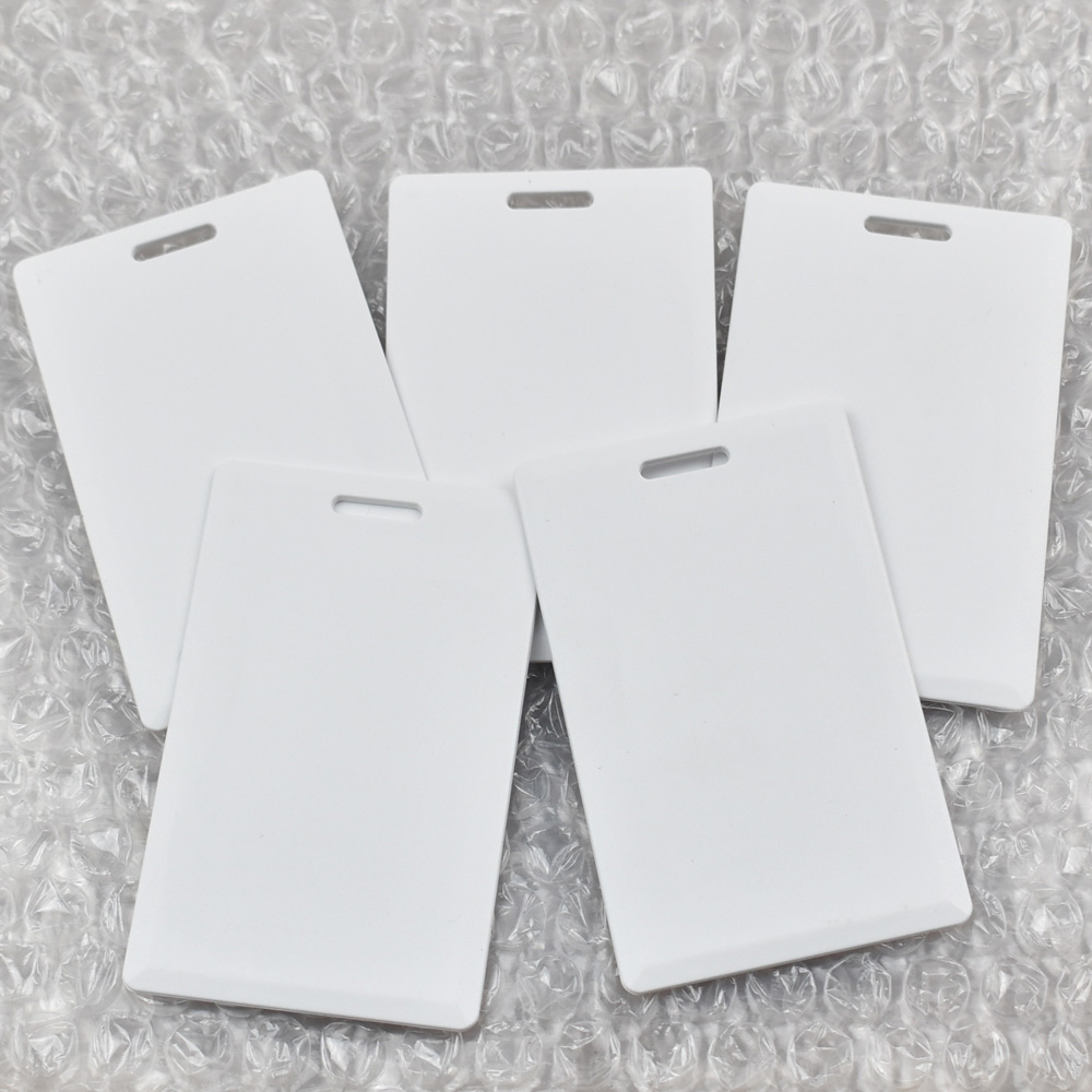 30pcs/lot 13.56MHz <font><b>ISO14443A</b></font> <font><b>UID</b></font> Changeable 1K S50 Thick RFID Block 0 Sector Writable Smart Card image