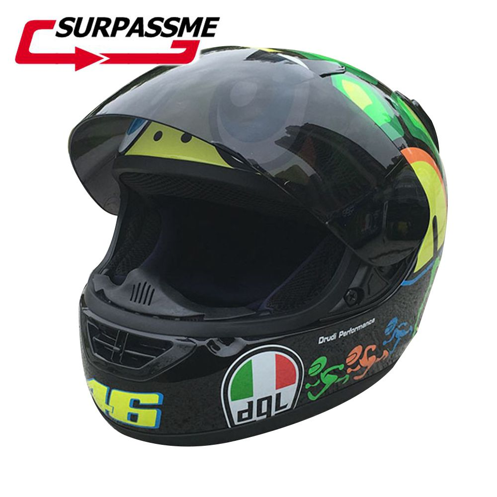 New Arrival Motorcycle Helmet Fashion Design Full Face Racing Helmets ECE DOT Approved Capacete Casco Casque Moto original ls2 ff353 full face motorcycle helmet high quality abs moto casque ls2 rapid street racing helmets ece approved