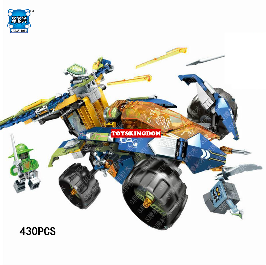 Hot Lepins Nexus Nick Knights Aaron Climbing Crawling Chariot Building Block Robot Stone Devil Figures Bricks Toys for Boys Gift hot city series aviation private aircraft lepins building block crew passenger figures airplane cars bricks toys for kids gifts