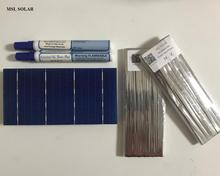 MSL SOLAR 2 1W 0 5V 3 x6 Solar cells A Grade 100pcs Lot Enough Tabbing